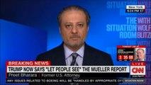 """Former U.S. Attorney Preet Bharara on Trump now says """"Let people see"""" The Mueller report"""". #Breaking #News #DonaldTrump #MuellerReport"""