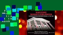 Full version  Vaccine Whistleblower: Exposing Autism Research Fraud at the CDC  Best Sellers Rank