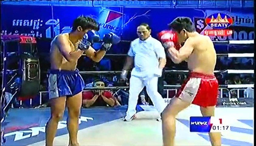 Saroeun Chan, Cambodia Vs Thai, Chhaiyo, 23 March 2019, International Boxing, Kun Khmer Boxing | Godialy.com