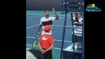 ATP - Miami Open 2019 - Nick Kyrgios est chaud à Miami. Son altercation avec l'arbitre après son double samedi