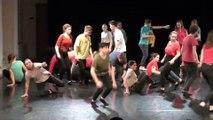 Restitution d'un projet expérimental de danse