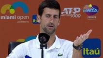 "ATP - Miami Open 2019 - Novak Djokovic : ""Au début, Rafael Nadal et Roger Federer m'ont frustré"""