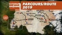 Parcours / Route : Critérium du Dauphiné 2019