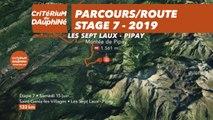 Parcours /Route - Étape 7/Stage 7 : Critérium du Dauphiné 2019