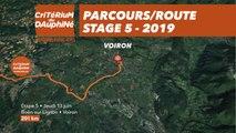 Parcours /Route - Étape 5/Stage 5 : Critérium du Dauphiné 2019