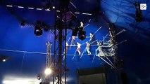 El terrible accidente de equilibristas en un circo de EE.UU