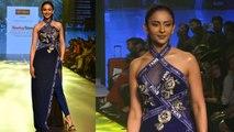 Rakul Preet Singh walks the ramp at Bombay Times Fashion Week 2019 | FilmiBeat