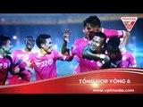 Tổng hợp vòng 6 Toyota V.league 1 - 2016