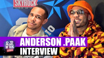 Interview Mrik x Anderson .Paak