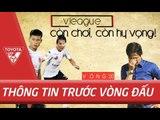 Trước Vòng 20 V.League | Cuộc đua nhóm đầu & Câu chuyện CLB Long An -  Còn chơi, còn hy vọng !