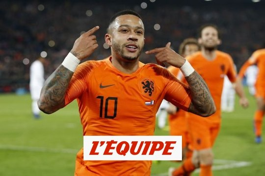 Memphis Depay, l'Orange mécanique - Foot - Qualif. Euro - Pays-Bas