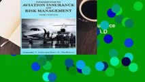 R.E.A.D Introduction to Aviation Insurance and Risk Management D.O.W.N.L.O.A.D