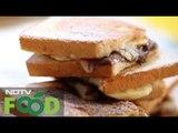 Watch recipe: Mascarpone Choco Hazelnut Sandwich