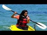 Ambika Anand enjoys Ttubing and Kayaking in Italy