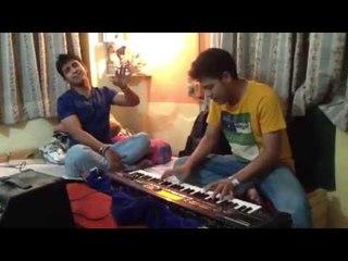 Abhi mujh me kahin - Jamming live with Rajdeep Chatterjee
