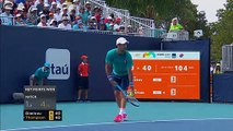 Grigor Dimitrov dumped out of the Miami Open by Jordan Thompson