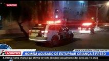 Homem confessa abuso contra menina de 10 anos em Araçatuba