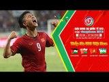 Đức Huy chuyền bóng tinh tế, Văn Đức gỡ hòa 1-1 cho ĐT U23 Việt Nam | VFF Channel