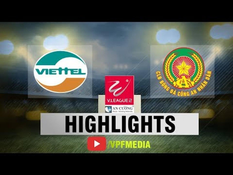 Giành 3 điểm tại Hàng Đẫy, CLB Viettel giữ vững ngôi đầu bảng xếp hạng | VPF Media