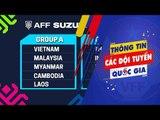 Lộ diện đối thủ của ĐTQG Việt Nam tại vòng bảng AFF Suzuki Cup 2018 | VFF Channel