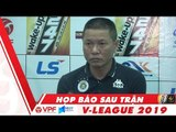Họp báo sau trận Quảng Nam vs Hà Nội | VPF Media