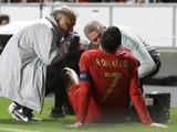 Cristiano Ronaldo, Portekiz-Sırbistan Maçında Sakatlandı