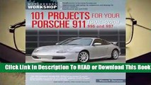 Full E-book 101 Projects for Your Porsche 911, 996 and 997 1998-2008  For Free
