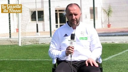 Interview de Belmadi sur FAF TV avant d'affronter la Tunisie