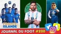 FRANCE-Islande, le MAROC furieux contre Lionel MESSI, mascotte EURO 2020 dévoilée