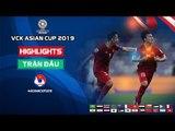 Quang Hải vẽ cầu vồng, ĐT Việt Nam rộng cửa vào vòng 1/8 Asian Cup 2019 | VFF Channel