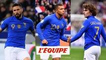 Un trio d'attaque flamboyant - Foot - Qualif. Euro