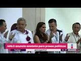 López Obrador anuncia amnistía a presos políticos para el 1 de diciembre | Noticias con Yuriria