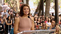 Mandy Moore Speech at her Hollywood Walk of Fame Ceremony