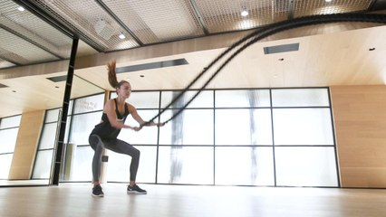 15 Battle Ropes Moves to Blast Your Body
