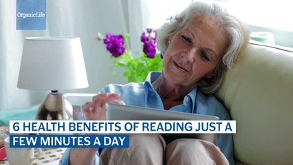 6 Health Benefits Of Reading Just A Few Minutes A Day