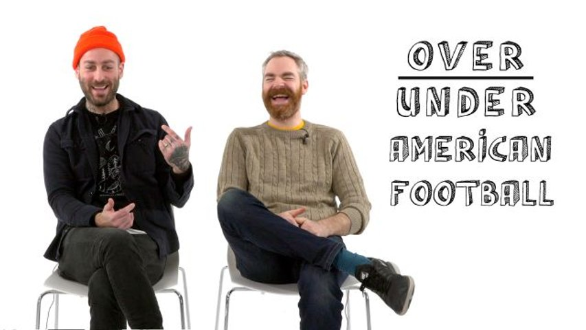 American Football Rate Greta Van Fleet, Bradley Cooper, and Celebrity ASMR
