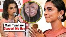 Kangana Ranaut's Sister Rangoli SUPPORTS Her Enemy Deepika Padukone | Chhapaak