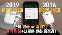 Airpods 2 Review!! 에어팟2 존버 성공 or 실패? 가격이 내려간 애플 에어팟 2세대 총정리!(Airpods 2)