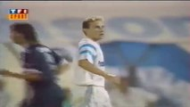 Jean-Pierre Papin ● Goals and Skills ● Olympique Marseille 2:0 FC Girondins Bordeaux ● Ligue 1 1990-91