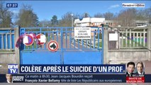 Les enseignants demandent plus de soutien hiérarchique après le suicide d'un professeur