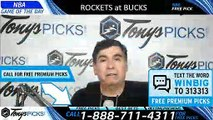 Houston Rockets vs Milwaukee Bucks 3/26/2019 Picks Predictions