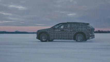 Elektromobilität unter Extrembedingungen - Der BMW iX3, der BMW i4 und der BMW iNEXT im Kältetest am Polarkreis