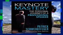 Popular Keynote Mastery: The Personal Journey of a Professional Speaker - Patrick Schwerdtfeger