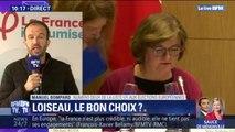 """Européennes: Pour Manuel Bompard (LFI), Nathalie Loiseau représente """"une Europe de la concurrence, de la fffdestruction sociale"""""""