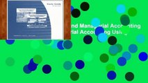 Best product  Financial and Managerial Accounting or Financial and Managerial Accounting Using