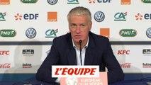 Deschamps sur Giroud «Une grande fierté pour lui» - Foot - Euro (Q) - Bleus