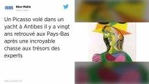Un Picasso volé en France voici 20 ans retrouvé aux Pays-Bas grâce à «Indiana Jones».