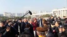 Le Roi et la Reine rendent hommage aux soldats belges tombés pendant la guerre de Corée