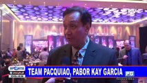 Team Pacquiao, pabor kay Garcia