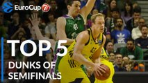 7DAYS EuroCup, Top 5 Dunks of the Semifinals!
